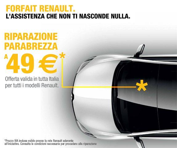 Servizi Post Vendita Renault Parabrezza